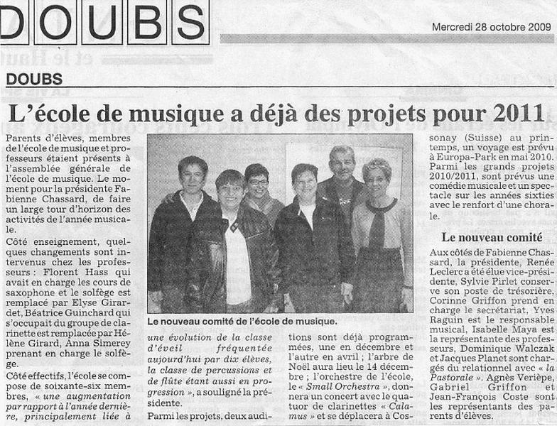 Revue de presse ecole de musique for Revue de www houseplans com